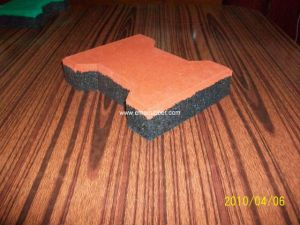Recycled Rubber Floor pictures & photos
