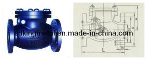 Shipbuilding Cast Iron 5k Swing Check Valves pictures & photos