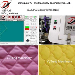 Computerized Multi-Needle Quilting Making Machine Ygb96-2-3 pictures & photos