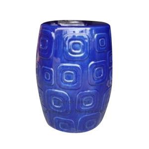 Blue Porcelain Stool (LS-95) pictures & photos