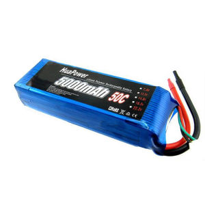 50C Li-Po Battery Pack 5000mAh (50-50005S)