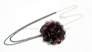 Costume Jewelry /Flower Necklace/Pendant (OJNK-02232)