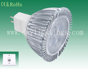 Dimmable LED Bulb 4W MR16 /E27/GU10