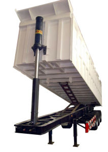 Cimc 3 Axles Rear Dump Trailer Truck Chassis pictures & photos
