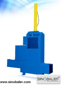 Hydraulic Baling and Bagging Press for Wood Chips