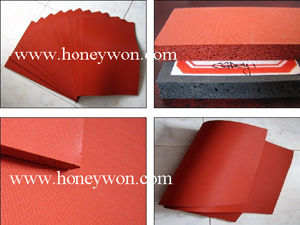 Open Cell Silicone Foam Pad Silicone Sponge Sheet Mat