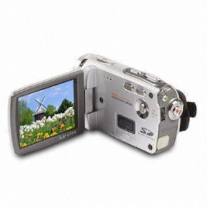 "High Definition Digital Video Camcorder with 3"" TFT LCD and 8.0Mega Pixels"