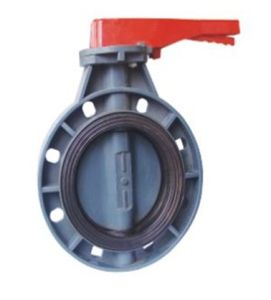 Plastic Butterfly Valve with Lever Operator pictures & photos