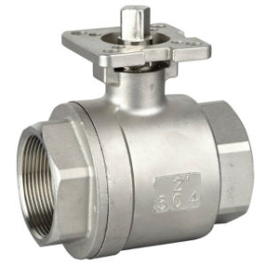 2PC Ball Valve with Pad pictures & photos
