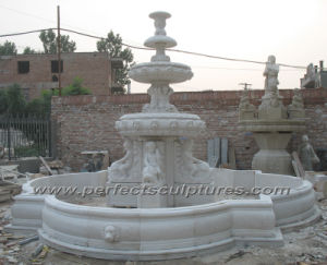 Stone Marble Fountain for Outdoor Garden Decoration (SY-F353) pictures & photos