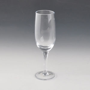 200ml Swirl Stem Glass Champagne Glass pictures & photos