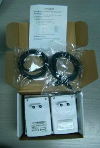 Homeplug Powerline Adapter 85m (HKTPLC-85W) pictures & photos