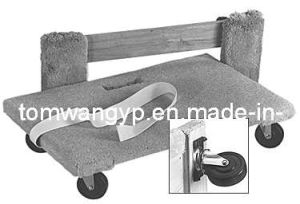 "20""X 30"" Plywood Mover Dolly with Carpet Cover (TC0520A-3) pictures & photos"