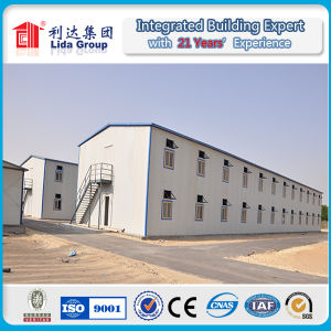 Double Storey Prefabricated House Labor Camp Qatar pictures & photos