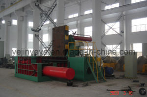 Heavy-Duty Steel Scrap Baling Machine with PLC Automatic (YDT-315A) pictures & photos