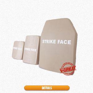 Single Curve Hard Armor Plate Nij III Nij IV Ceramics / UHMW PE pictures & photos