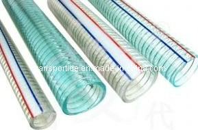 PVC Spiral Steel Wire Reinforced Hose (3/4 inch to 8 inch) pictures & photos