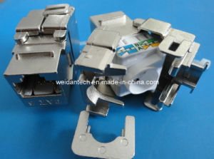 CAT6 FTP Tooless Keystone Jack (WD6B-010) pictures & photos