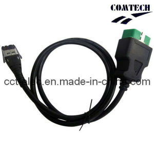 OBDII 16PM to AMP RJ45 8P Cable (XK141001) pictures & photos
