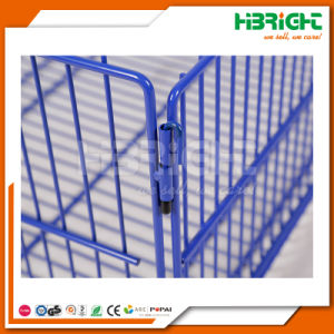 Mobile Promotion Dump Bin Stacking Display Wire Basket pictures & photos