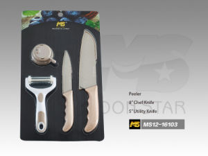 PP Handle Kitchen Knife (MS12-16103)