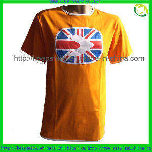 Custom Clothes for Fashion T Shirt with Sublimation Patch pictures & photos