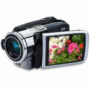 "High Definition Digital Video Camcorder with 3"" LTPS LCD and 8.0Mega Pixels"