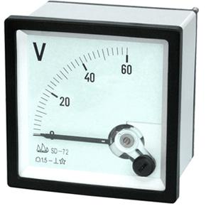 72 Moving Coil Instrument DC Voltmeter pictures & photos