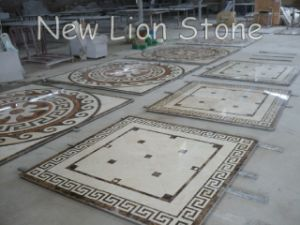 Natural Stone Water Jet Flooring Medallions