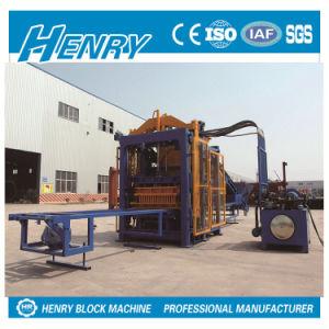 Qt10-15 Full Automatic Hydraulic Pressure Cement Block Machine Hollow Block Maker pictures & photos