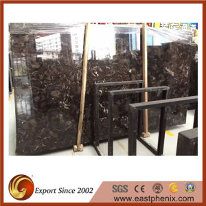 Chinese Emperador Dark Marble Slab for The Shower Wall Stone Tile pictures & photos
