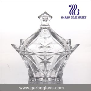 8′′ New Style Glass Candy Pot (GB1832ljx) pictures & photos