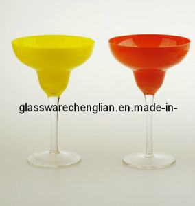 Colorful Ceramic Margrita Glass Cup (D04A-141, 142) pictures & photos