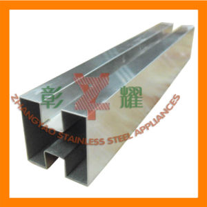 Stainless Channel/U/Grooved Tube for Handrail Glass System pictures & photos