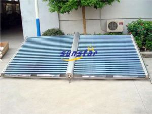 Glass Vacuum Tube Solar Project Unit Sg190-58/1800-F/Al-C/40-50 pictures & photos