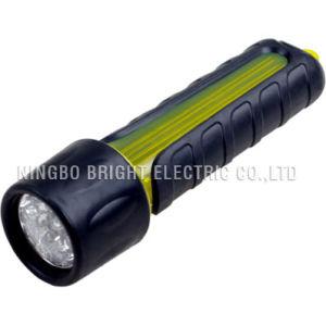 Plastic LED Flashlight (EST1009)
