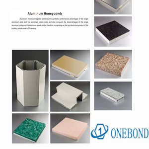 Onebond Aluminum Honeycomb Plate pictures & photos