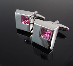 Cufflink with Crystals pictures & photos