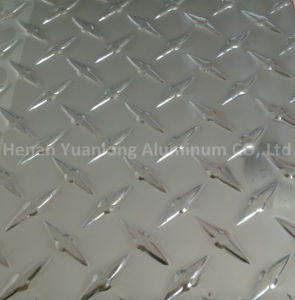 Tread Aluminum Sheet (3003, 5052, 6061) 1060 Alloy Polished Tread Plate /Aluminum Strip Diamond Pattern Sheet