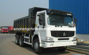 HOWO 8X4 Dump Truck / Tipper with Mining Bucket 336HP pictures & photos