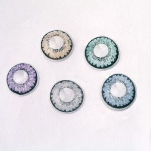 Cosmetic Lens Colored Contact Lenses Available In Blue, Green, Purple, Gray And Brown