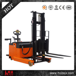 1t Electric Reach Stacker Forklift