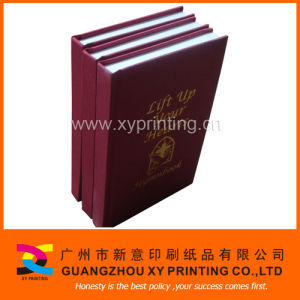 Round Spine Cloth Hardcover Book (XY-114)