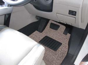 Durable PVC Coil Car Carpet/ Mats -Beige/Brown pictures & photos