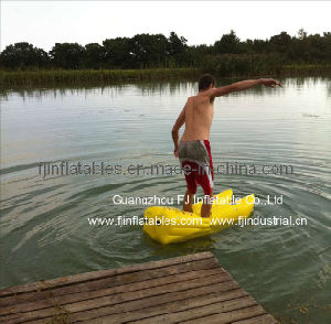 Inflatable water boots, water skipper