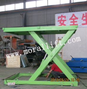 Stable Hydraulic Cargo Scissor Lift (SJG) pictures & photos