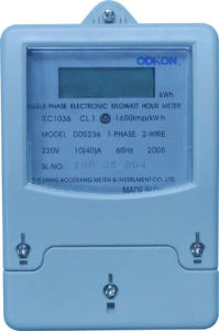 Single Phase Electronic Watt Hour Meter (DDS236)