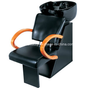 Beautiful Black Salon Hair Shampoo Chair with Sink Gza-S808