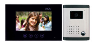 Hands Free Color Video Intercom Doorbell Camera (DF-636TSC-2W+OUT9))