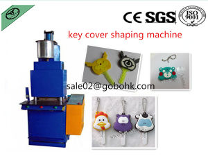 Liquid PVC/Rubber Resin Key Chain Injection Machine pictures & photos